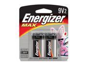 Energizer 522BP-2 2 Pack 9 Volt Energizer® Max® Alkaline Batteries