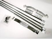 """Selkirk Metalbestos 8T-RBK 8"""" Stainless Steel Roof Brace Kit"""
