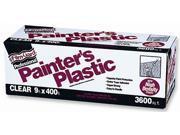 Covalence Plastics HDL9400 9X400 9' X 400' Film-Gard® Clear Professional Painter's Plastic