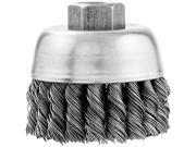"Vermont American 16830VA 3"" Knotted Wire Industrial Cup Brush"