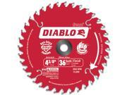 "Freud D0436X 4-3/8"" Hi-Density 36 Tooth Diablo® Cordless Trim Saw Blade"