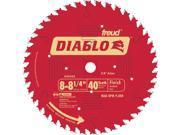 """FREUD                                    8-1/4"""" 40T Diablo™ Finish Work Circular Saw Blade"""