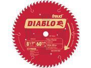 "FREUD                                    8-1/2"" 60T Diablo™ Fine Finish Work Miter/Slide Miter Saw Bl"