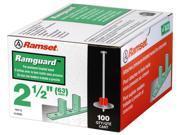 "ITW 09173 .300 X 2-1/2"" Ramguard™ Drive Pin With Washer"