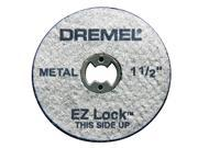 "DREMEL 5 Count 1-1/2"" EZ Lock Cutoff Wheels"