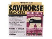 The Lehigh Group 90-6 Double Duty Sawhorse & Work Surface Brackets