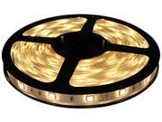 Hitlights Flexible SMD 3528 LED Strip Light only/ Warm White Color/ 300 LEDs/ 16/4 Ft(5 Meters)/ IP-65/ Weatherproof (no power supply included)