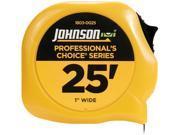 "Johnson Level 1803-0025 25' x 1"" Professional's Choice Power Tape"