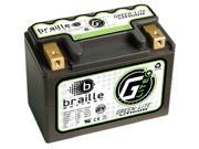 Braille Green-Lite Lithium Motorcycle Battery G4 - LFX07A2-BS12 – Yamaha Honda Ducati Kawasaki  BMW Suzuki  KTM Polaris