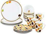 Rachael Ray 16-pc. Little Hoot Dinnerware Set