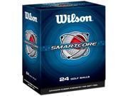 Wilson Sports WGWR54202 Smart Core Golf Balls, Str Dist Dbl DZ
