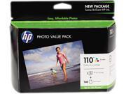 HP 110 Gloss Photo Value Pk