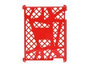 Scosche webKASE IPD2HFR for iPad 2/3/4 -Red