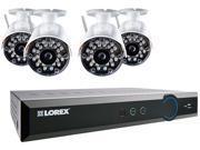 LOREX LH03081TC4W ECO Black Box 8-Channel Stratus DVR with 4 Wireless Cameras