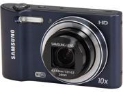 SAMSUNG WB30F EC-WB30FZBPBUS Black 16.2 MP 10X Optical Zoom 24mm Wide Angle Digital Camera HDTV Output