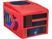 Thermaltake Armor A30i - Red Red SECC / AL MicroATX Mini Tower Computer Case (VM700A3W2N)