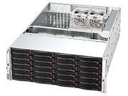 SUPERMICRO SuperChassis CSE-846A-R900B Black 4U Rackmount Case with 900W Power AI-Pass Connectorbackplane RTL