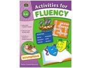 Activities For Fluency, Grades 5 To 6, 144 Pages