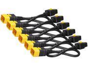 APC Model AP8714S 4 feet Power Cord Kit (6 ea), Locking, C19 to C20