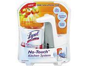 No-Touch Kitchen System, 8.5 oz, Plastic, Tangerine