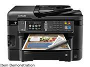 EPSON WorkForce WF-3640 Wireless (802.11 b/g/n) InkJet Workgroup Color Inkjet ...