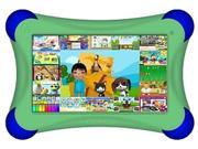 "Visual Land Prestige FamTab 8 GB Tablet - 7"" - Wireless LAN - ARM Cortex A9 1.60 GHz - Green"