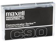 Maxell Standard Dictation Audio Cassette, Normal Bias, 90 Minutes (45 x 2)