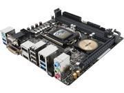 ASUS H97I-PLUS LGA 1150 Intel H97 HDMI SATA 6Gb/s USB 3.0 Mini ITX Intel Motherboard