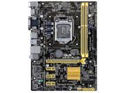 Asus H81M-PLUS Desktop Motherboard - Intel H81 Chipset - Socket H3 LGA-1150