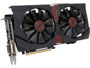 ASUS STRIX-R9285DC2OC2GD5 Radeon R9 285 2GB 256-Bit GDDR5 PCI Express 3.0 HDCP Ready CrossFireX Support Video Card