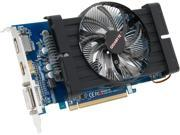 GIGABYTE GV-R677D5-1GD Radeon HD 6770 1GB 128-Bit GDDR5 PCI Express 2.1 x16 HDCP Ready CrossFireX Support Video Card Manufactured Recertified