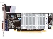 MSI R5450-MD1GD3H/LP Radeon HD 5450 1GB 64-Bit DDR3 PCI Express 2.0 x16 HDCP Ready Low Profile Video Card