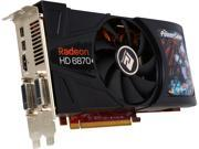 PowerColor AX6870 1GBD5-2DH Radeon HD 6870 1GB 256-Bit GDDR5 PCI Express 2.1 x16 HDCP Ready CrossFireX Support Video Card with Eyefinity