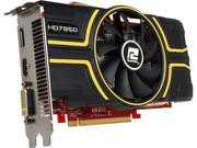 PowerColor Radeon HD 7850 DirectX 11 AX7850 2GBD5-DHE/OC 2GB 256-Bit GDDR5 PCI Express 2.1 CrossFireX Support ATX Video Card
