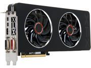 XFX R9-280X-TDFD Radeon R9 280X 3GB 384-Bit GDDR5 PCI Express 3.0 x16 CrossFireX Support Double Dissipation Edition Video Card