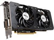 XFX BLACK Edition R7-370P-2285 Radeon R7 370 2GB 256-Bit GDDR5 PCI Express 3.0 CrossFireX Support Video Card
