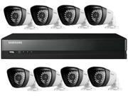 Samsung SDS-P5082 16 Channel 960H DVR Security System w/ 8 x 720TVL True Day & Night Outdoor Camera