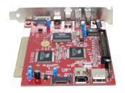PPA 1325 PCI SATA / IDE 2 Port SATA + 3 Port 1394A + 4 Port USB 2.0 Controller Card