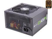 CORSAIR CXM series CX430M 430W ATX12V v2.3 80 PLUS BRONZE Certified Modular Active PFC Power Supply