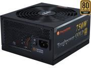 Thermaltake Toughpower  TPD-0750M - SLI/ CrossFire Ready 80 PLUS Gold Certification and Semi Modular Cables  Black Active PFC Power Supply Intel Haswell Ready (PS-TPD-0750MPCGUS-1)
