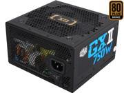 COOLER MASTER GXII RS750-ACAAB1-US 750W ATX 12V V2.31 80 PLUS BRONZE Certified Active PFC Power Supply