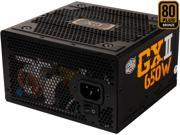 COOLER MASTER RS650-ACAAB1-US 650W ATX12V 80 PLUS BRONZE Certified Active PFC Power Supply