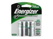Energizer CNH2 2-pack 2500mAh Size C Ni-MH Batteries