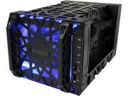 "ICY DOCK MB174U3S-4SB 3.5"" Black SATA I/II/III USB3.0 & eSATA Black Vortex 4 Bay USB 3.0 & eSATA External HDD Enclosure"