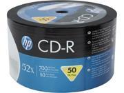 HP 52X CD-R 50 Packs Disc Model CR00070B