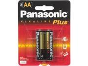 Panasonic AM-3PA/2B 2-pack AA Alkaline Batteries