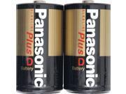 Panasonic  AM-1PA/2B  2-pack  D-Size Alkaline Plus  Batteries