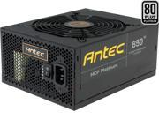 Antec HCP-850 Platinum 850W ATX12V / EPS12V Yes Yes 80 PLUS PLATINUM Certified Full Modular Active PFC Power Supply - Intel Haswell Fully Compatible
