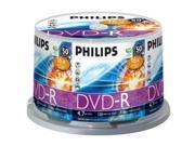 PHILIPS 4.7GB 16X DVD-R 50 Packs Disc Model DM4S6B50F/17
