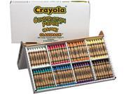 CrayolaConstruction Paper Crayons, Classpack, Wax, 20 Sets of 8 Colors, 160/Box